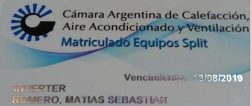 aire acondicionado instalación servicio técnico