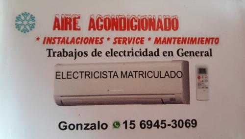 aire acondicionado  instalaciones * service * mantenimiento