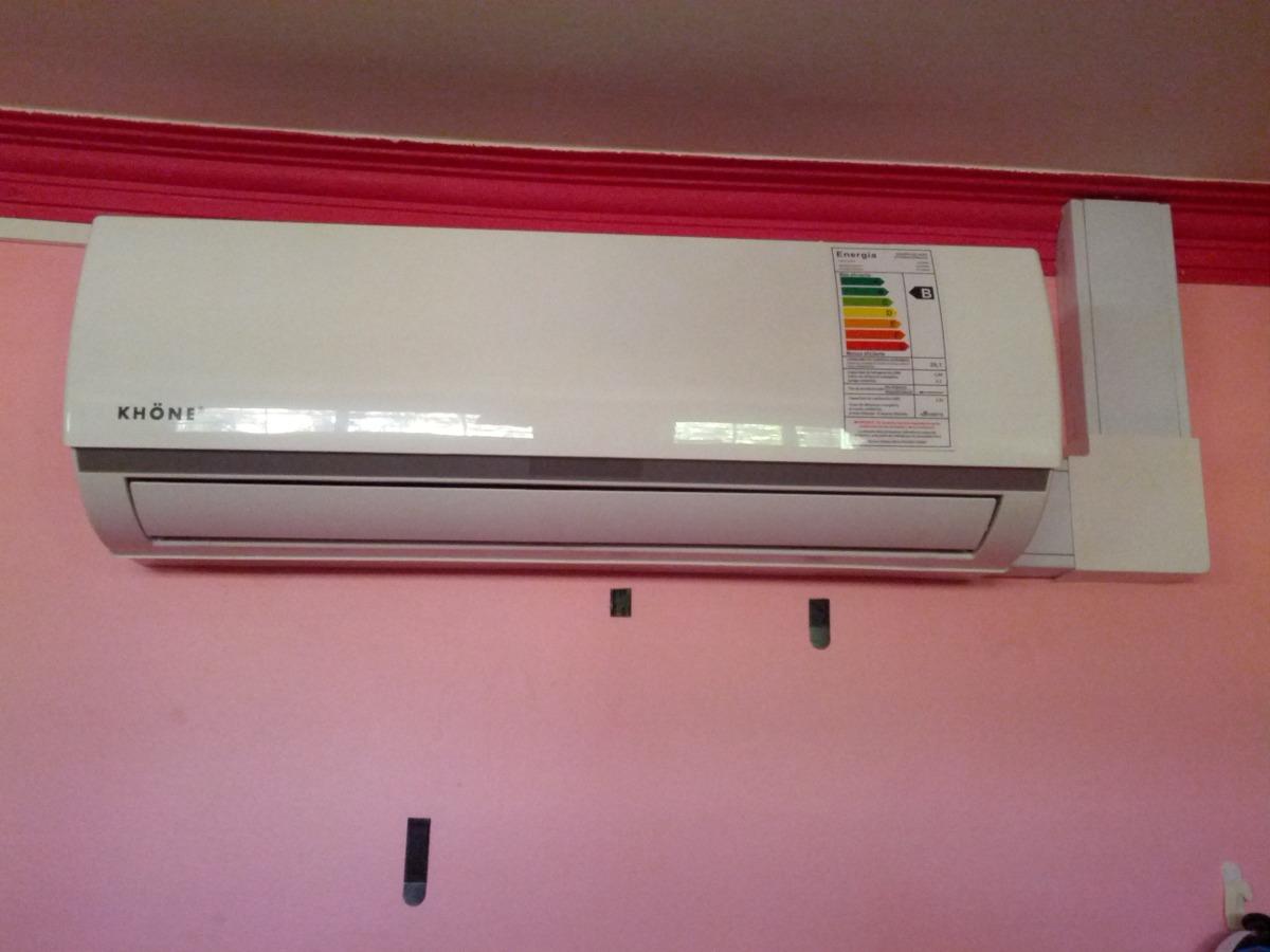 Aire acondicionado inverter 12000 btu instalado 410 for Aire acondicionado 12000 frigorias