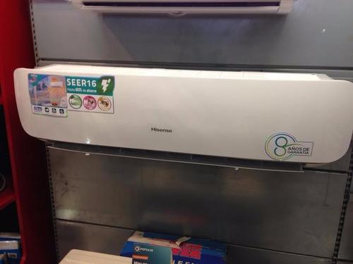aire acondicionado inverter 18,000 btu hisense