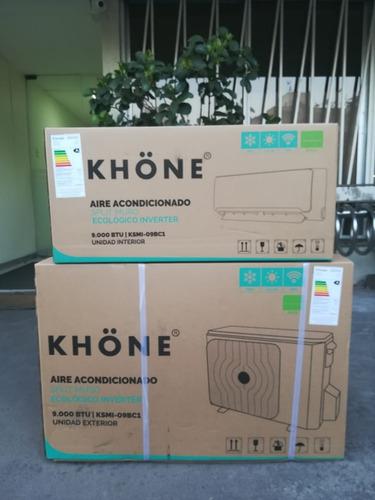 aire acondicionado inverter 18000 btu nuevo instalados khone