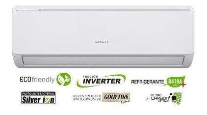 aire acondicionado inverter sankey® (es-24invdw1) nueva caja