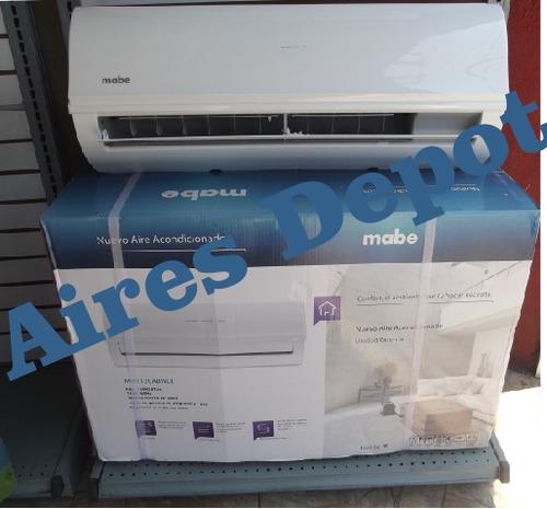 aire acondicionado mabe 1 ton. 110v. sin display