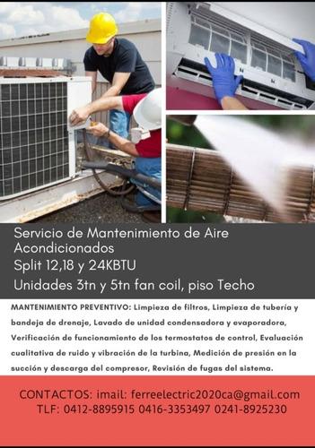 aire acondicionado mantenimiento tecnico