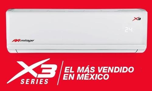 aire acondicionado mirage x3 frio 1 ton. 220v