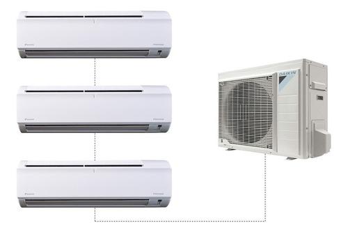 aire acondicionado multisplit daikin inverter 2500w+5600w