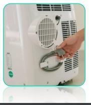 aire acondicionado portátil aux frio/calor 12,000 btu 1 ton
