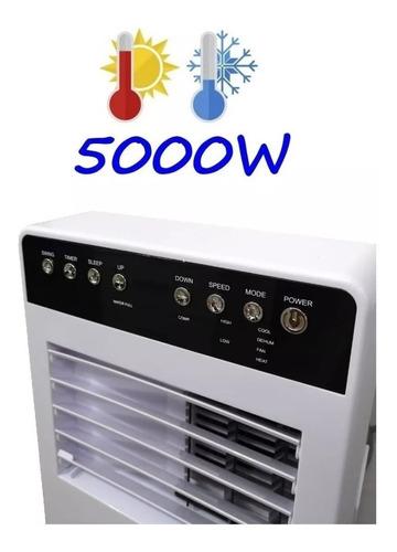 aire acondicionado portatil frio calor 5000w control timer