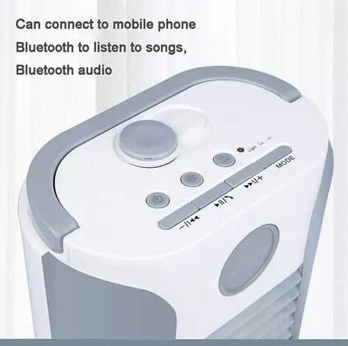 aire acondicionado portátil multifuncional con bluetooth