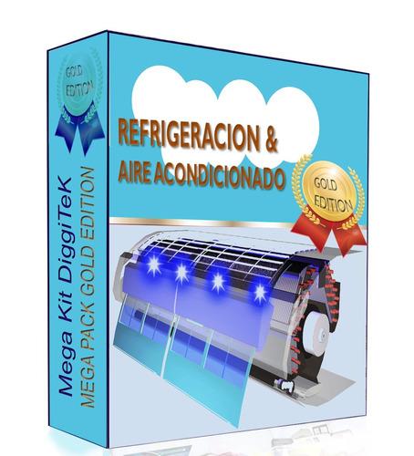 aire acondicionado refrigeración - libro técnico + extras!