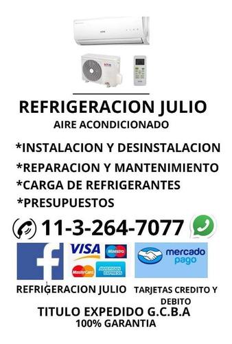 aire acondicionado / reparacion instalacion y mantenimiento