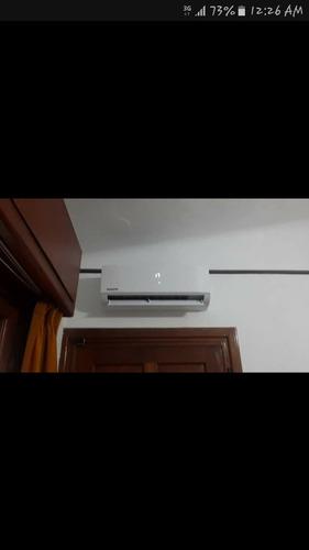 aire acondicionado reparación, recarga de gas,instalacion