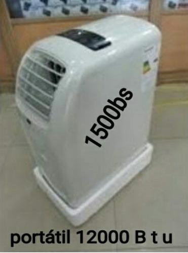aire acondicionado samsung 12000 b t u es portátil
