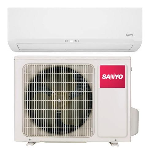 aire acondicionado sanyo 2550w split frio calor kcs25ha4bn