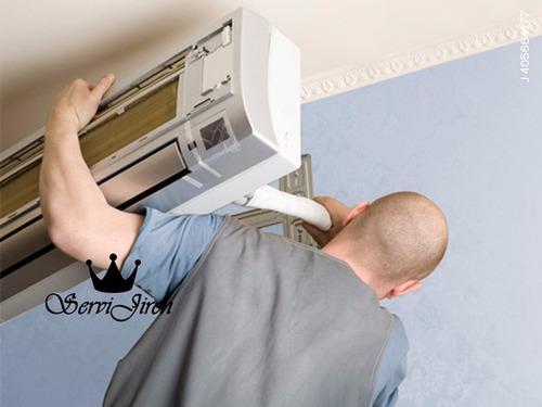 aire acondicionado servicio reparación
