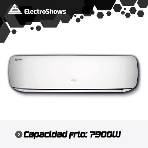 aire acondicionado siam 5700 frigorias 3300 w split f / c