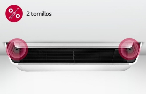 aire acondicionado sistema techo lg frio calor 3 tr inverter