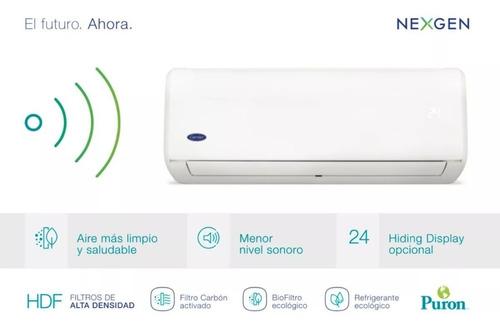 aire acondicionado smart carrier hng1201f 2900 kcal/h f / c