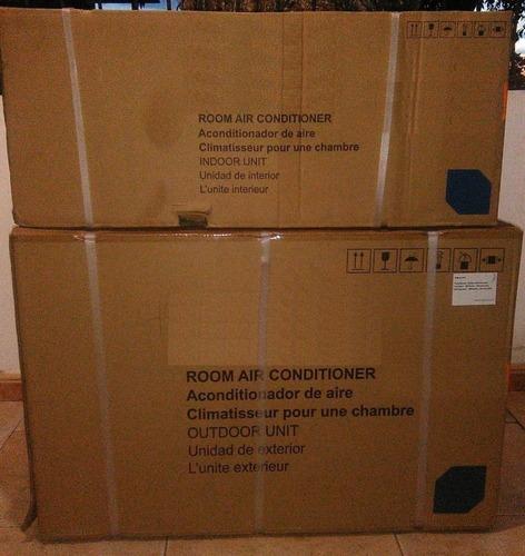aire acondicionado split 12000 btu nuevo sellado factura