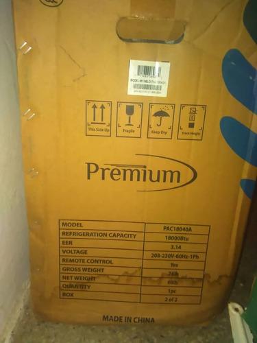 aire acondicionado split 18mil btu premium nuevo