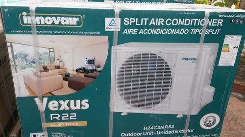 aire acondicionado split 24000btu 220v nuevo innovair