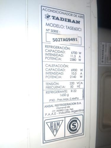 aire acondicionado split 5700 fg