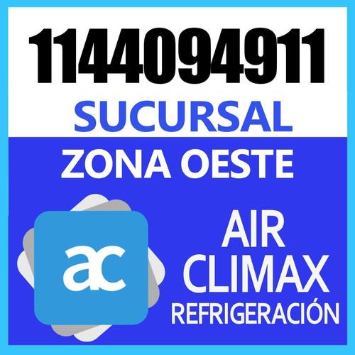 aire acondicionado split carga de gas servicio tecnico