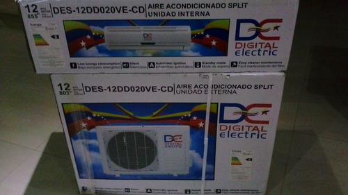 aire acondicionado split de paquete de 12 mbtu 220v...