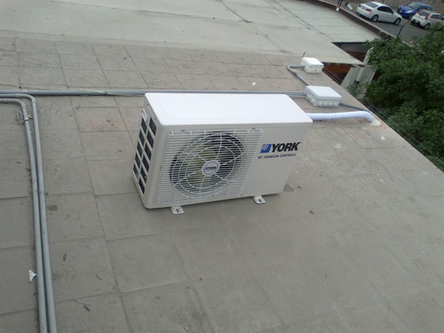 aire acondicionado split decorativo york de 12000 btu/h!!
