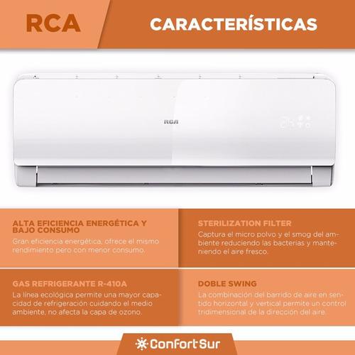 aire acondicionado split f/c rca efic a ls6300 6300w env *6