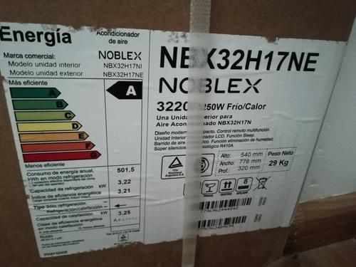 aire acondicionado split frio calor noblex 3220/3250 w