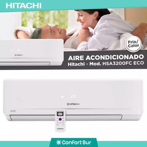 aire acondicionado split frio/calor hitachi 3200 envío **6