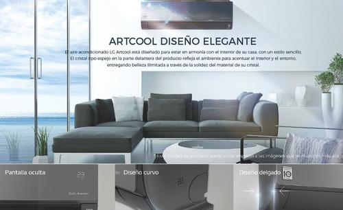 aire acondicionado split lg art cool dual inverter 6000 f c