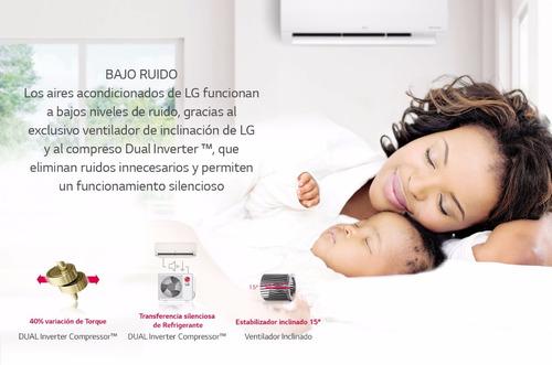 aire acondicionado split lg dual inverter 3000 frigorias fc