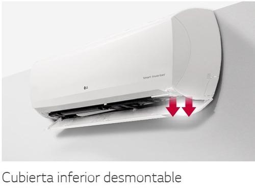 aire acondicionado split lg inverter dual cool 6450 w f c