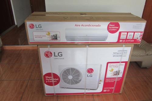 aire acondicionado split lg  inverter  wi-fi incorporado!!