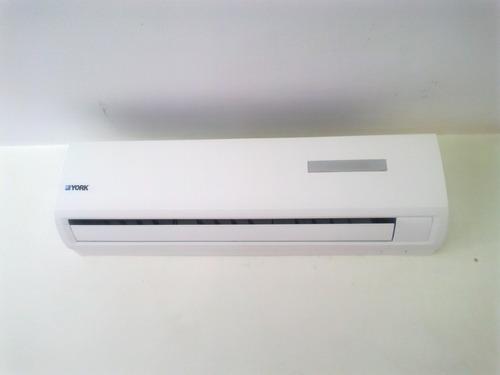 aire acondicionado split york  frió-calor ,eficientes!!