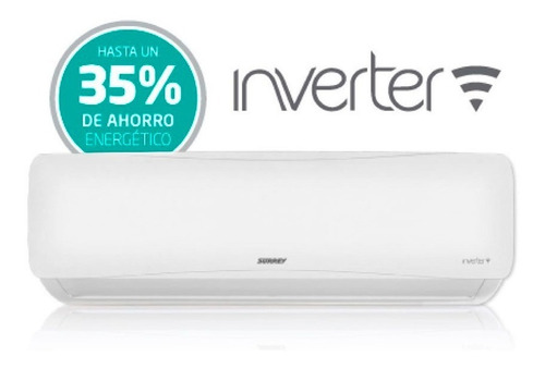 aire acondicionado surrey split inverter frio calor 2958 kca
