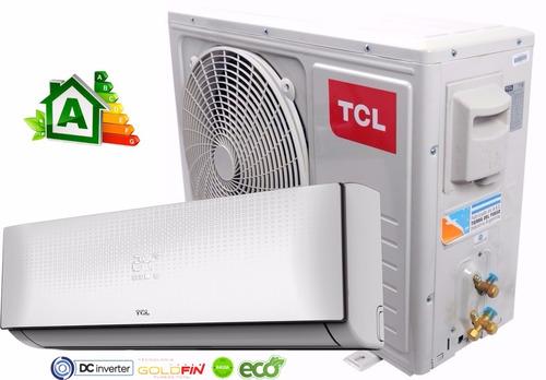 aire acondicionado tcl inverter frio calor 3500 clase a plus