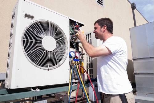 aire acondicionado técnico