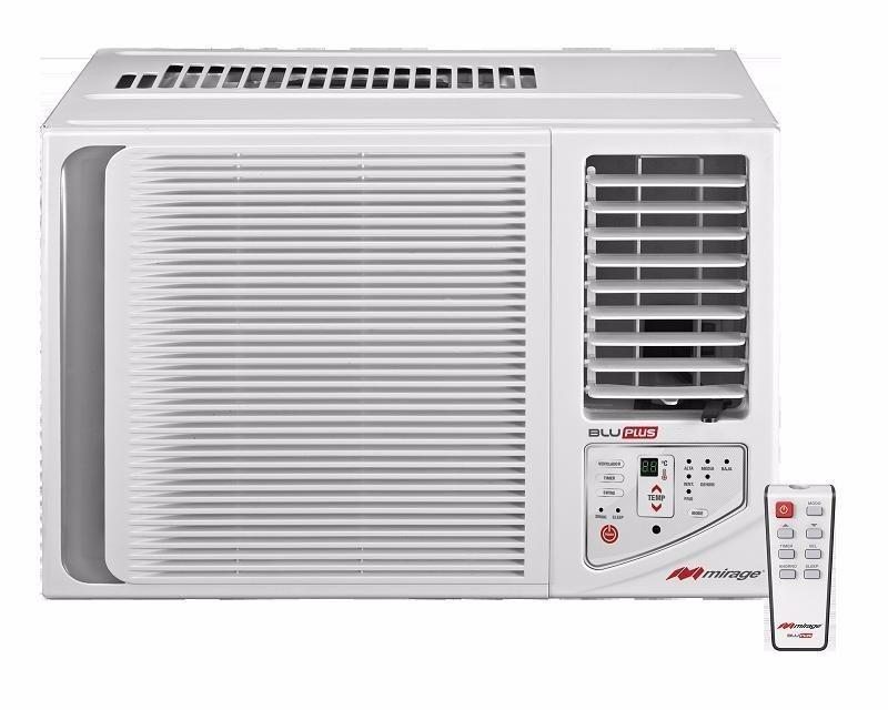 Aire acondicionado de ventana mirage 1 ton 12000 btus 110v for Aire acondicionado 12000 frigorias