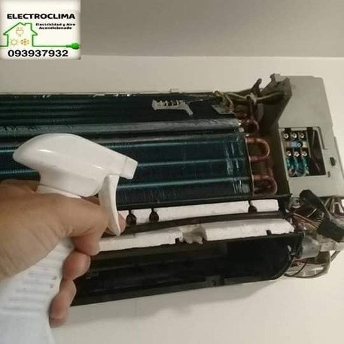 aire acondicionado y electricidad