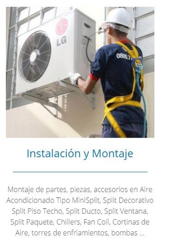 aire acondicionado york + instalación