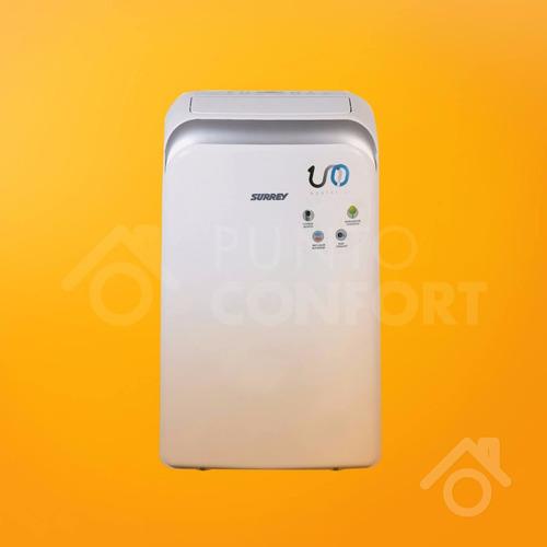aire acondiciondo portátil surrey 3000 kcal/h frío calor