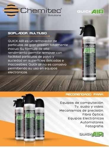 aire comprimido aerosol chemitec 200gr pc notebook envio