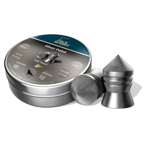 aire comprimido balines h&n silver point 4.5 x 500