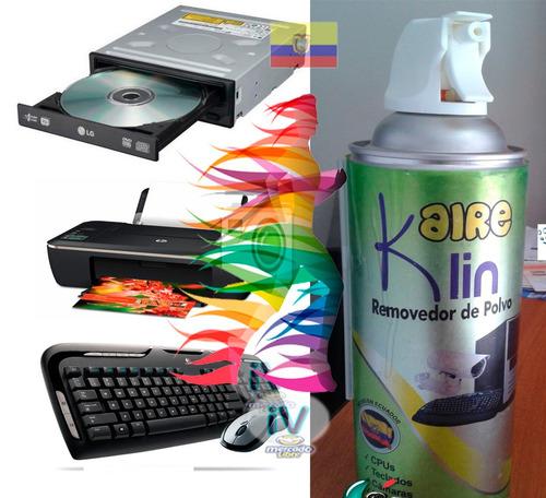 aire comprimido lg de 300ml quita polvo suciedad pc teclado