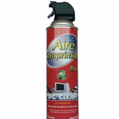 aire comprimido , removedor de polvo 350gr.envasado a presi
