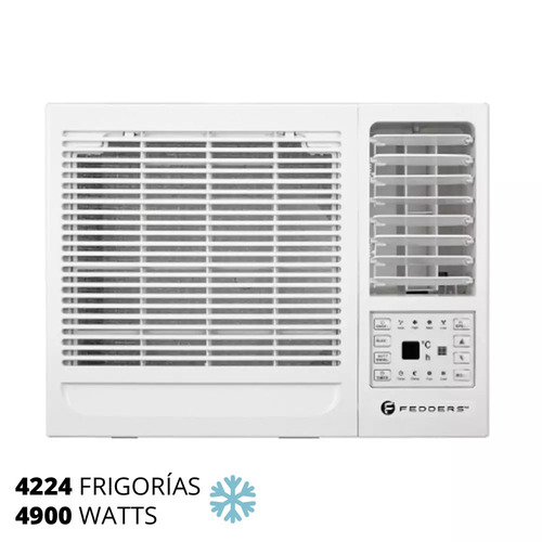 aire de ventana frio 4224f / 4900w fedders tac49cwa/rie