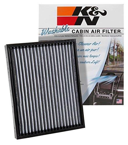 aire filtro de aire cabina lavable y reutilizable k & n vf20